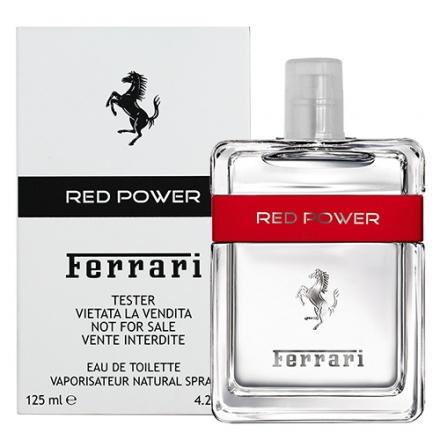 【Ferrari】Red Power 熱力 男性淡香水 125ml TESTER