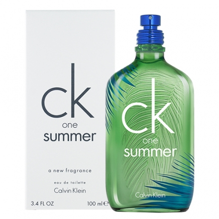 Calvin Klein CK One Summer 2016 夏日限量 版香水100ml TESTER 環保盒