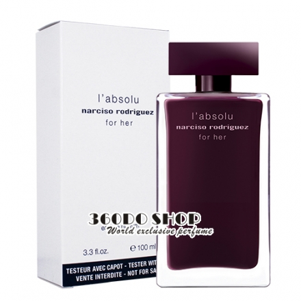 【Narciso Rodriguez】For Her 勃根地 女性淡香精 100ML TESTER - 環保盒有蓋