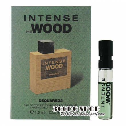 【DSQUARED2】HE WOOD Intense 極致 男性淡香水 針管 1.5ml(噴式)