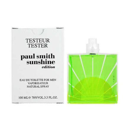 Paul Smith Sunshine 2012 曙光限量版男性淡香水 100ml TESTER商品