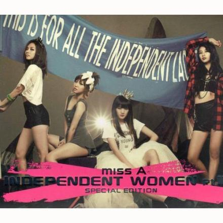 miss A  Independent Women CD(購潮8)
