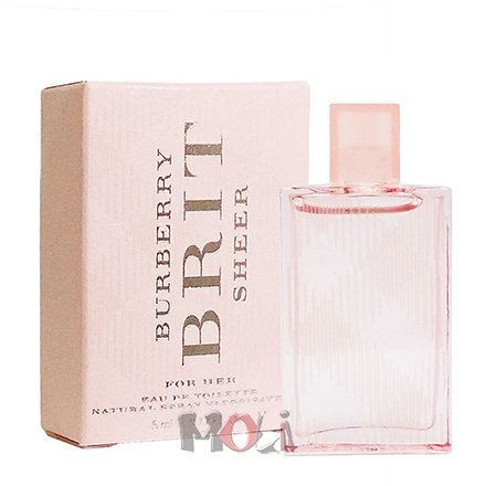 Burberry Brit Sheer 新粉紅風格女性淡香水 小香 5ml
