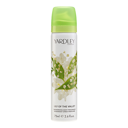 Yardley Lily Of The Valley 鈴蘭百合體香噴霧 75ml