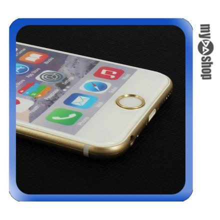 Home鍵 iPhone 5S 6 Plus iPad 按鍵貼 金色(80-2396)