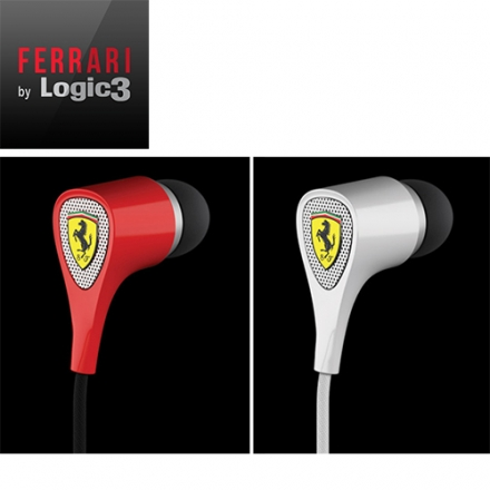 法拉利 Ferrari by Logic3 S100  入耳式耳機