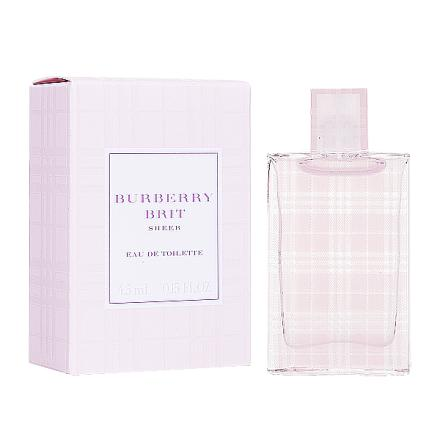 Burberry Brit Sheer 粉紅風格 女性淡香水 5ML 沾式小香