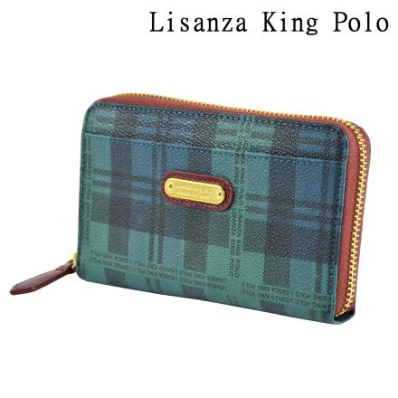 Lisanza King Polo 牛皮短零夾
