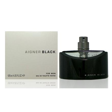Aigner Black For Men 真我男性淡香水 125ml Tester 包裝