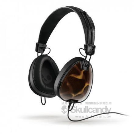 Skullcandy Aviator 飛行者系列 - iPhone麥克風耳機 (豹紋)