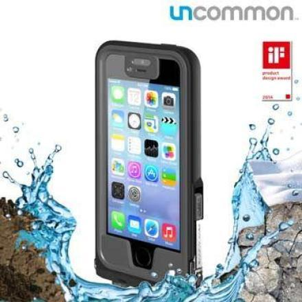 Uncommon iPhone5/5S Safety 防水保護殼-黑 灰 二色