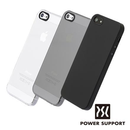 POWER SUPPORT Air Jacket 輕薄保護殼 for iPhone 5/5S 透明
