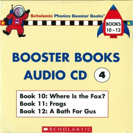 Phonics Booster Books Audio CD 04 (Book 10-12..