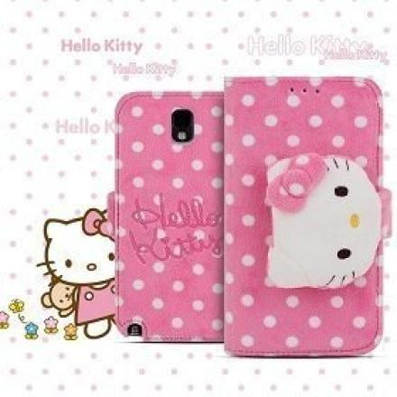 TOUCH-KR Hello Kitty 大頭布偶皮套 手機殼│iPhone5/5S│
