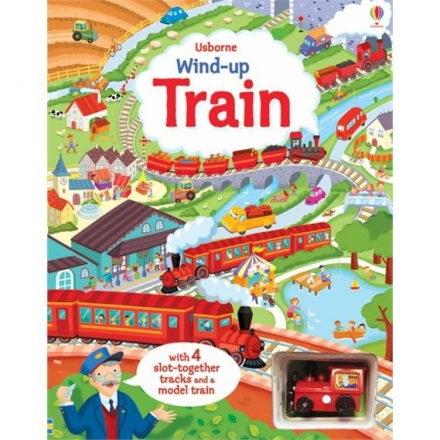 Wind-UP Train 車車書:火車之旅