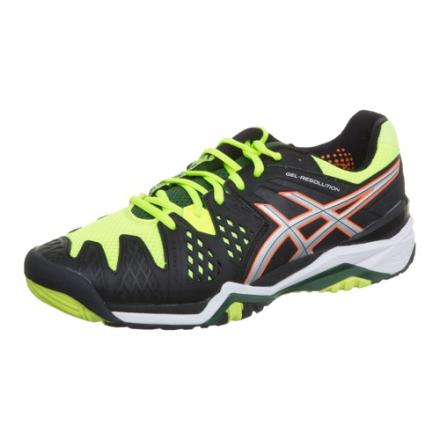 asics GEL-RESOLUTION 6專業網球鞋E500Y-9993