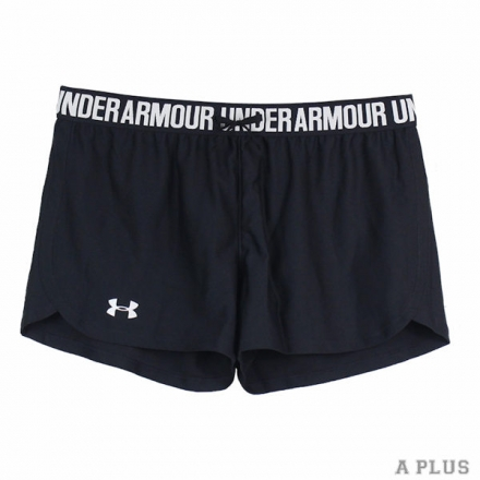 【Under Armour】Under Armour 女 HG PLAY UP訓練短褲 黑 - 1264264002