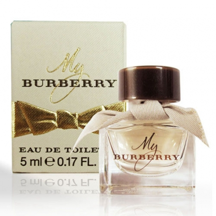 BURBERRY My Burberry女性淡香水 小香5ml【櫻桃飾品】