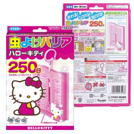 日本 HELLO KITTY 防蚊掛環 250日【櫻桃飾品】 【24827】