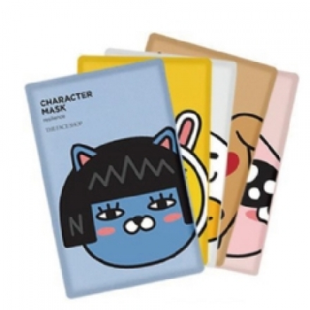 韓國 THEFACESHOP X KAKAO FRIENDS 限量面膜(1片入)【櫻桃飾品】 【24961】