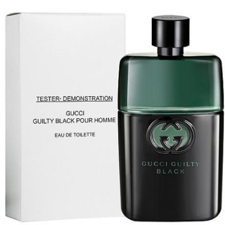 GUCCI Guilty Black 罪愛.夜 男性淡香水 90ml-Tester包裝