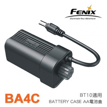 Fenix BA4A BATTERY CASE AA BT10專用電池盒【AH07169】