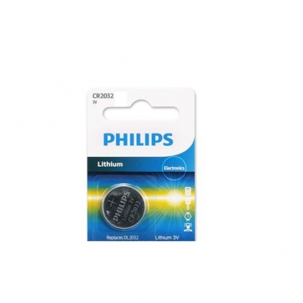 PHILIPS CR2032 / 3V鈕扣鋰電池 1顆裝