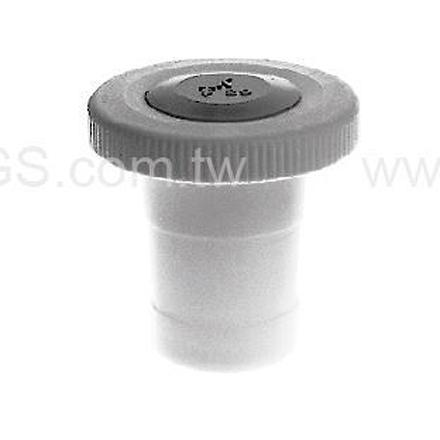 《KIMBLE & CHASE》磨砂塞PTFE Stopper, Solid, PTFE, Colo