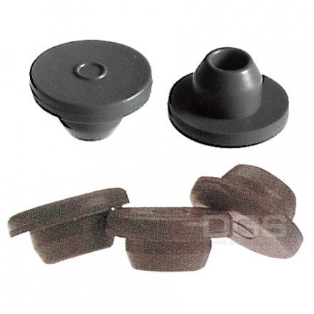 《台製 》血清塞 Stopper For Aluminum Seal Finish, Gray Butyl Rubber