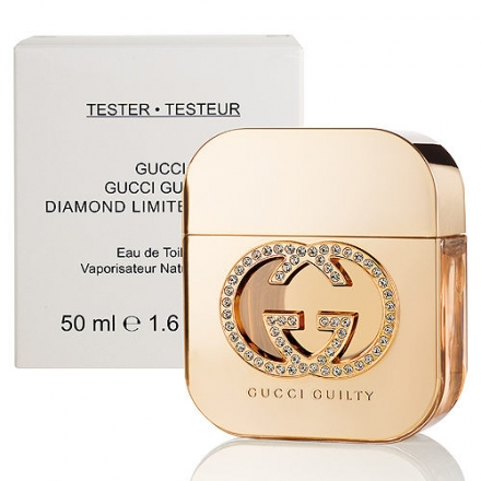 Gucci Guilty Diamond 罪愛 鑽石限量版 女性淡香水 50ml (tester)