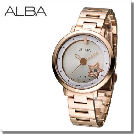 ALBA Fashion Lady 星光滿屋時尚腕錶 VJ32-X244KS