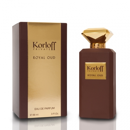 Korloff PRIVATE ROYAL OUD 赭鑽神話男性淡香精 88ml