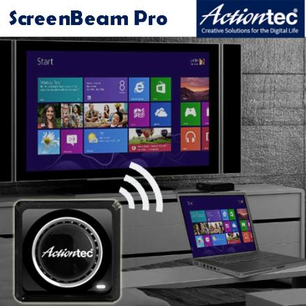 Actiontec ScreenBeam Pro Miracast WiDi 無線影音接收器