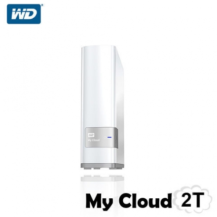 WD My Cloud 2T 3.5吋 網路硬碟盒 雲端硬碟 NAS