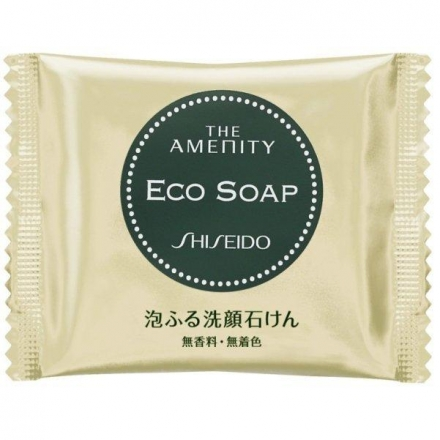 日本限定 資生堂( SHISEIDO)THE AMENITY ECO SOAP 洗面皂(10g)◎花丁愛漂亮◎