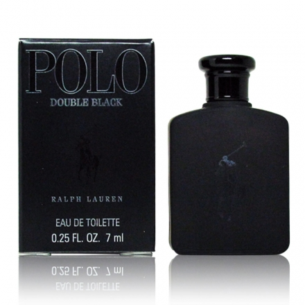 Ralph Lauren Polo Double Black 雙黑馬球男香 小香水7ml【UR8D】