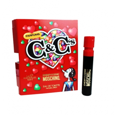 Moschino Cheap and Chic 奧莉薇女性淡香水 針管 1ml【UR8D】
