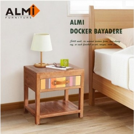 ALMI DOCKER BAYADERE-BEDSIDE 1 DRAWER 床頭櫃