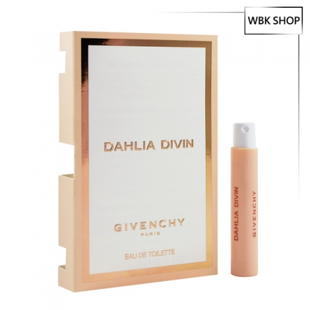 Givenchy 紀梵希 金色誘惑女性淡香水 針管小香1ml Dahlia Divin EDT - WBK SHOP
