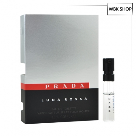 PRADA Luna Rossa 卓越男性淡香水EDT 針管小香1.5ml - WBK SHOP