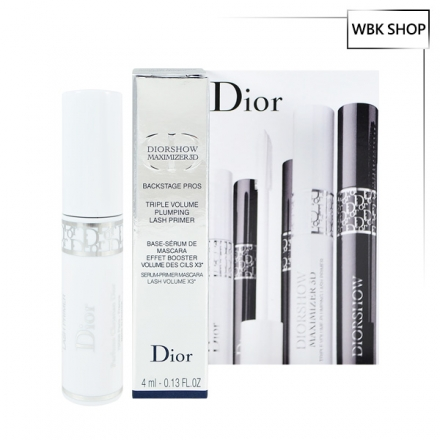 Dior 迪奧 豐彩精華3D睫毛修護底霜 4ml Diorshow Maximizer 3D - WBK SHOP