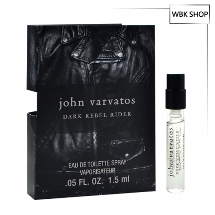 John Varvatos 暗黑騎士男性淡香水 針管小香 1.5ml Dark Rebel Rider EDT - WBK SHOP
