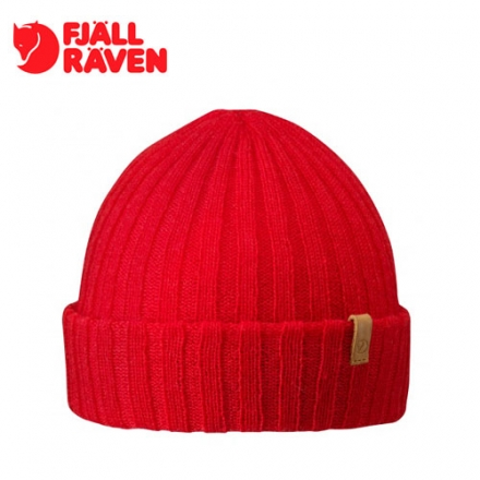 瑞典 Fjallraven小狐狸 Byron hat Thin 保暖針織毛帽 紅 #77258
