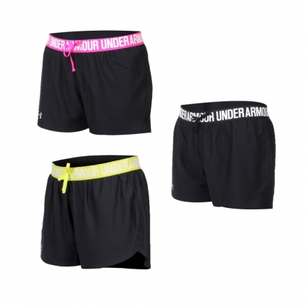 UA UNDER ARMOUR HG Play Up女訓練短褲( 【04351008】