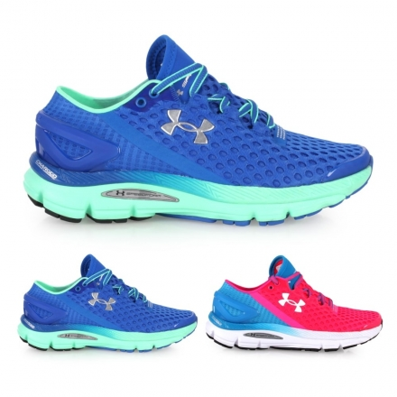 UA UNDER ARMOUR Speedform Gemini2女慢跑鞋【02015477】