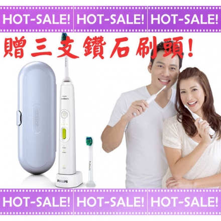 【贈鑽石刷頭*3】Philips Sonicare HX8962 煥白 可調力道 音波震動 電動牙刷 (2016新款上市)