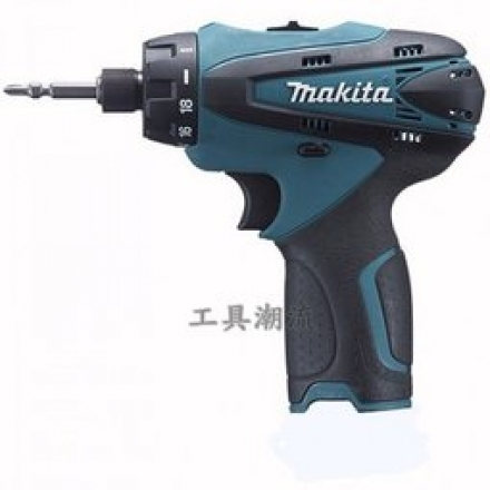 [巧匠工坊]日本牧田Makita 10.8V鋰電DF030DWE(單售機身主機*1)六角柄調扭力起子機/電鑽