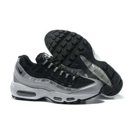 "Nike Wmns Air Max 95 QS ""Metallic Platinum氣墊跑鞋 情侶款"