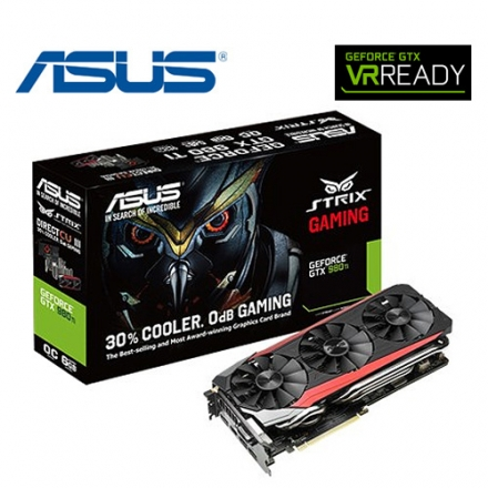 ASUS 華碩 STRIX-GTX980TI-DC3OC-6GD5-GAMING 顯示卡