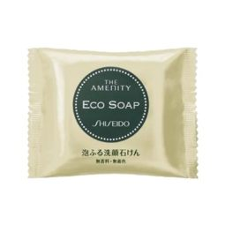 SHISEIDO資生堂 THE AMENITY ECO SOAP泡泡洗顏皂 10G